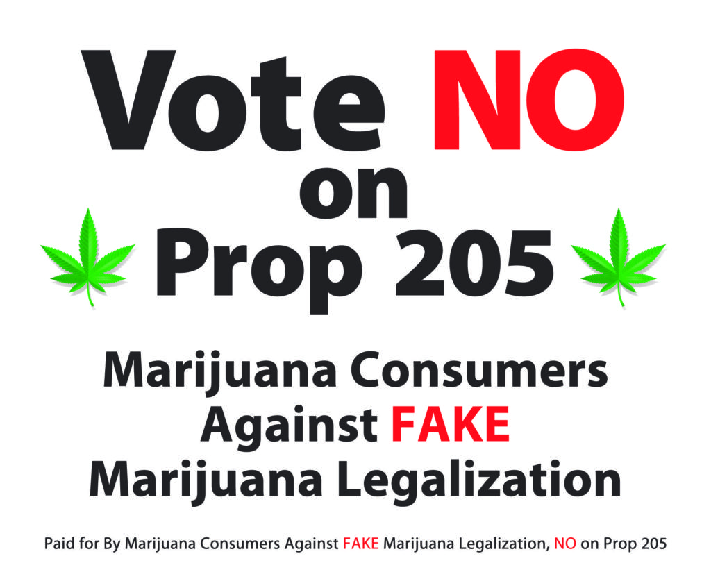 Prop 205 Arizona Marijuana Legalization